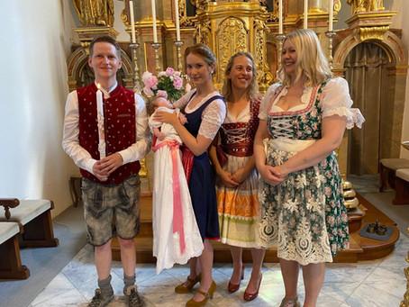 Taufe von Maria Walcher