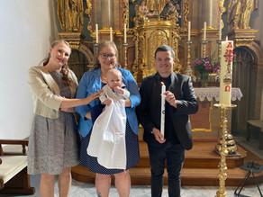 Taufe von Sonnenfeld Finn