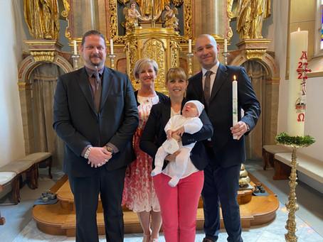 Taufe von Constantin Michael Theuermann