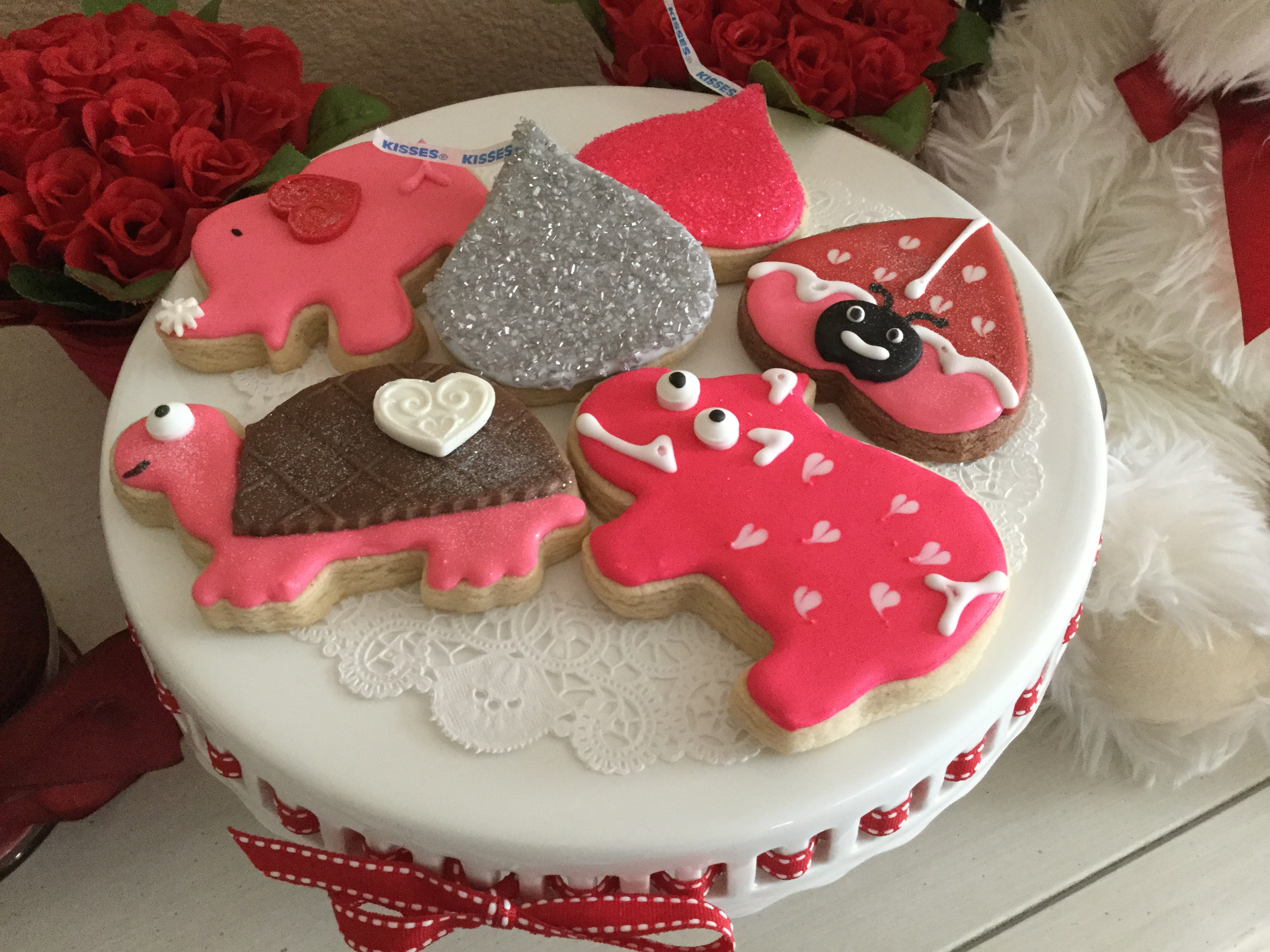 Valentine Cutie Cookies