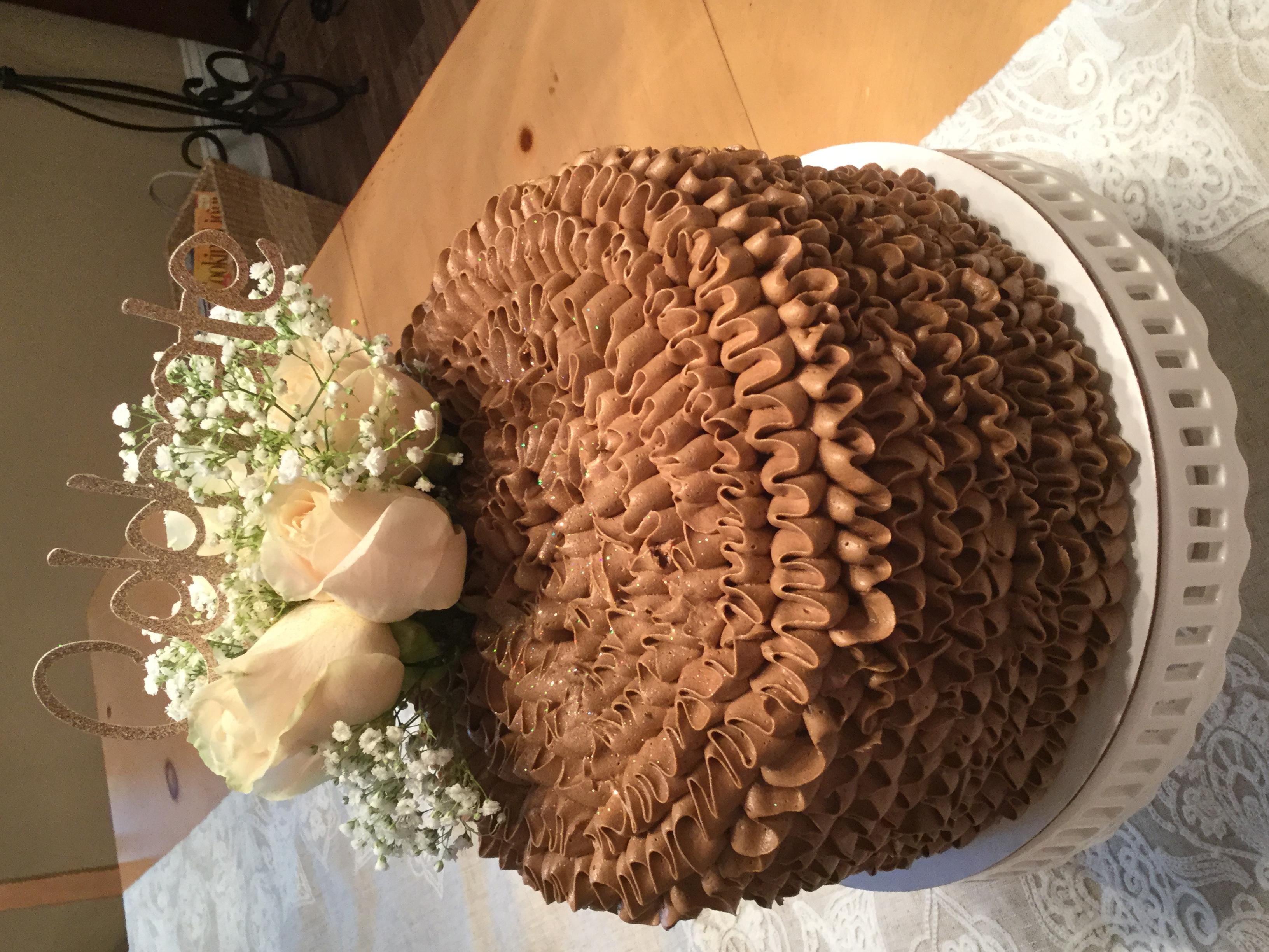 Chocolate & ruffles