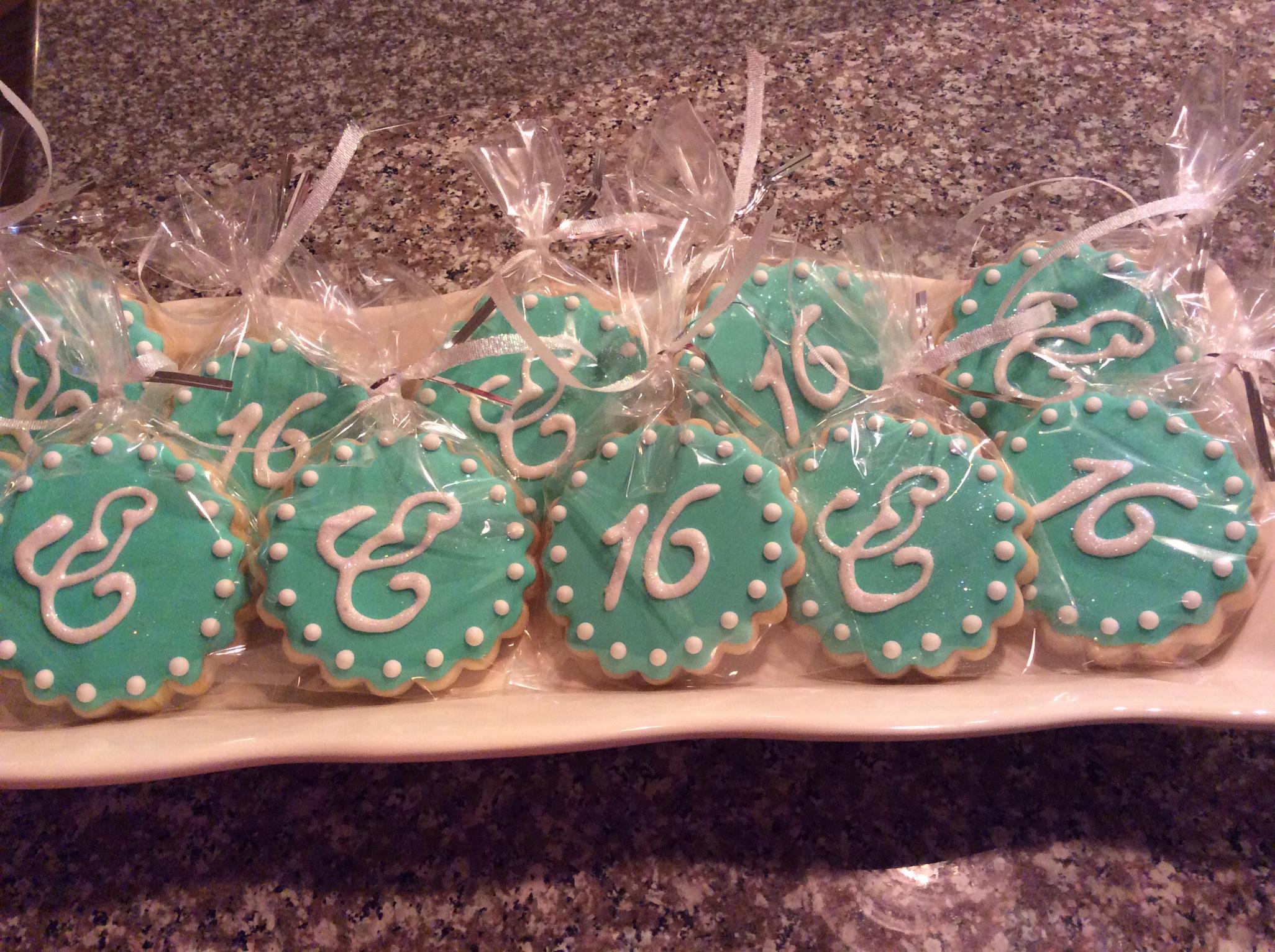Sweet 16 at Tiffany's Cookies