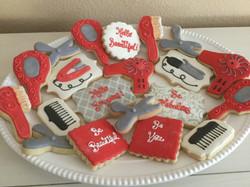 Salon style cookies