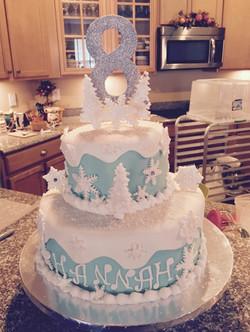 Winter Fun Cake