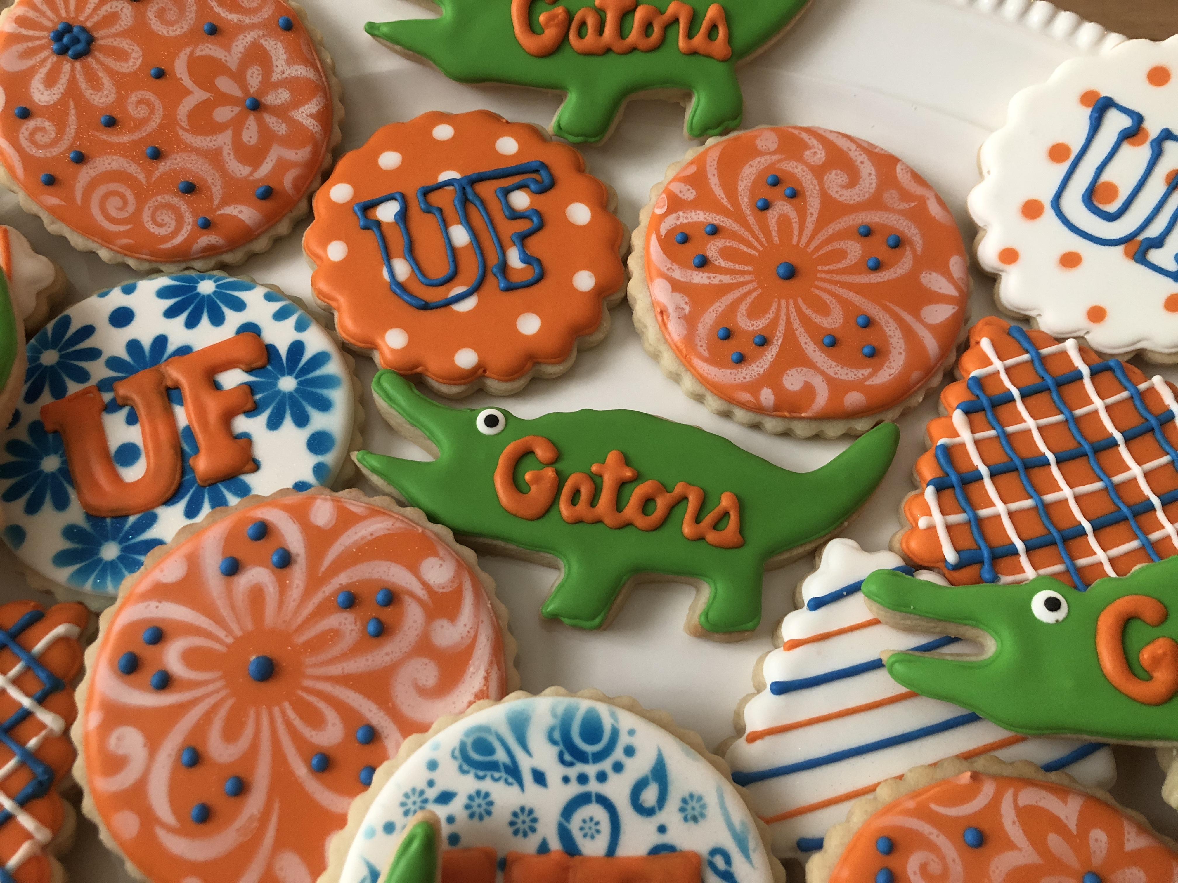 Gator Girl Cookies