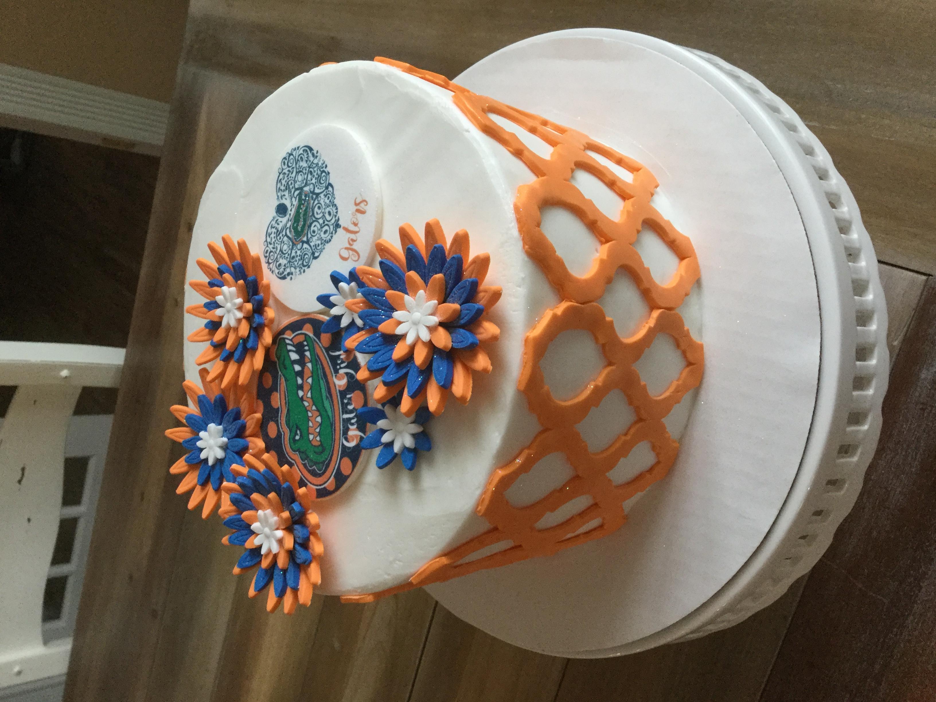 Gator Girl cake