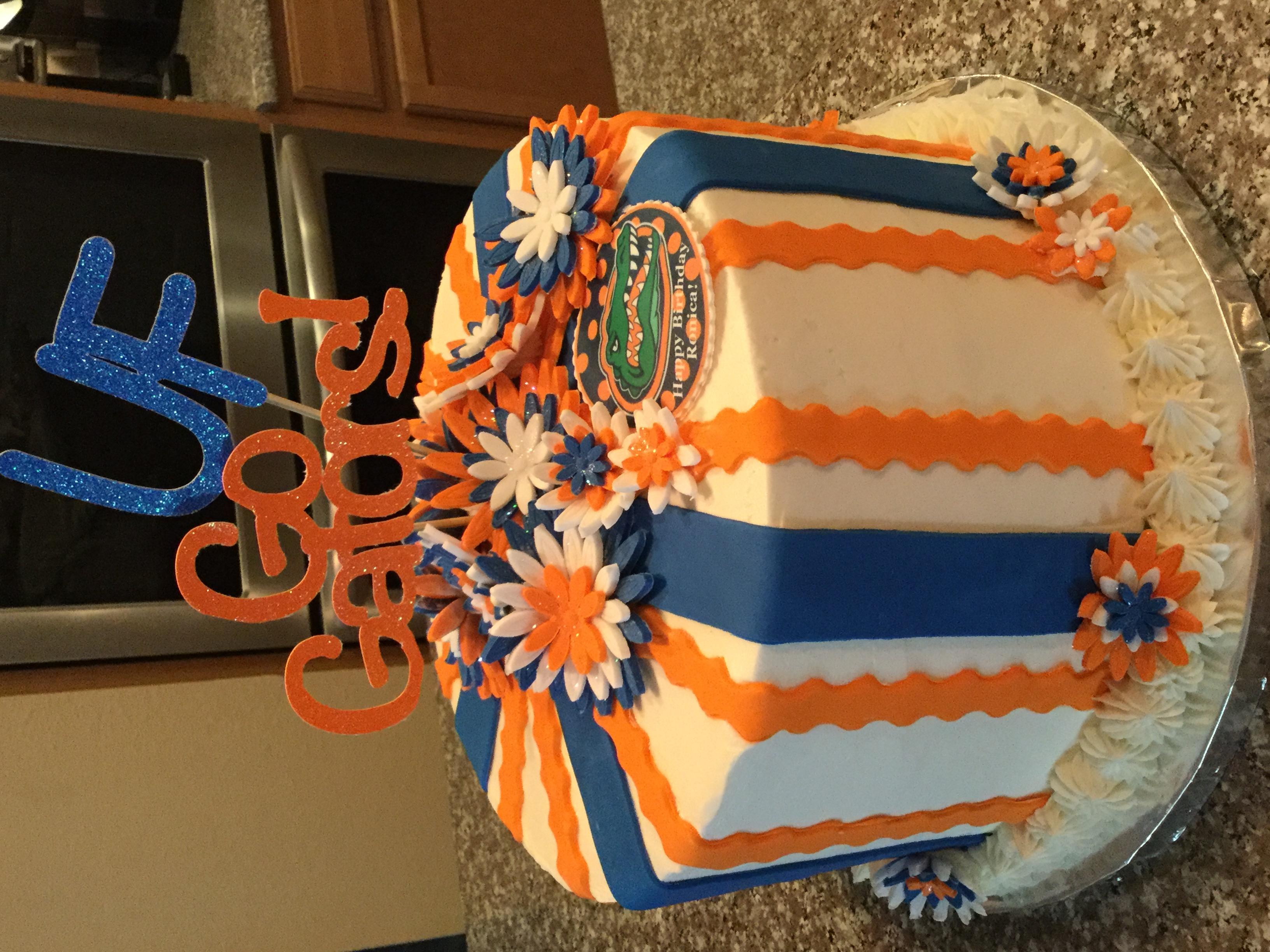 UF Flower Cake