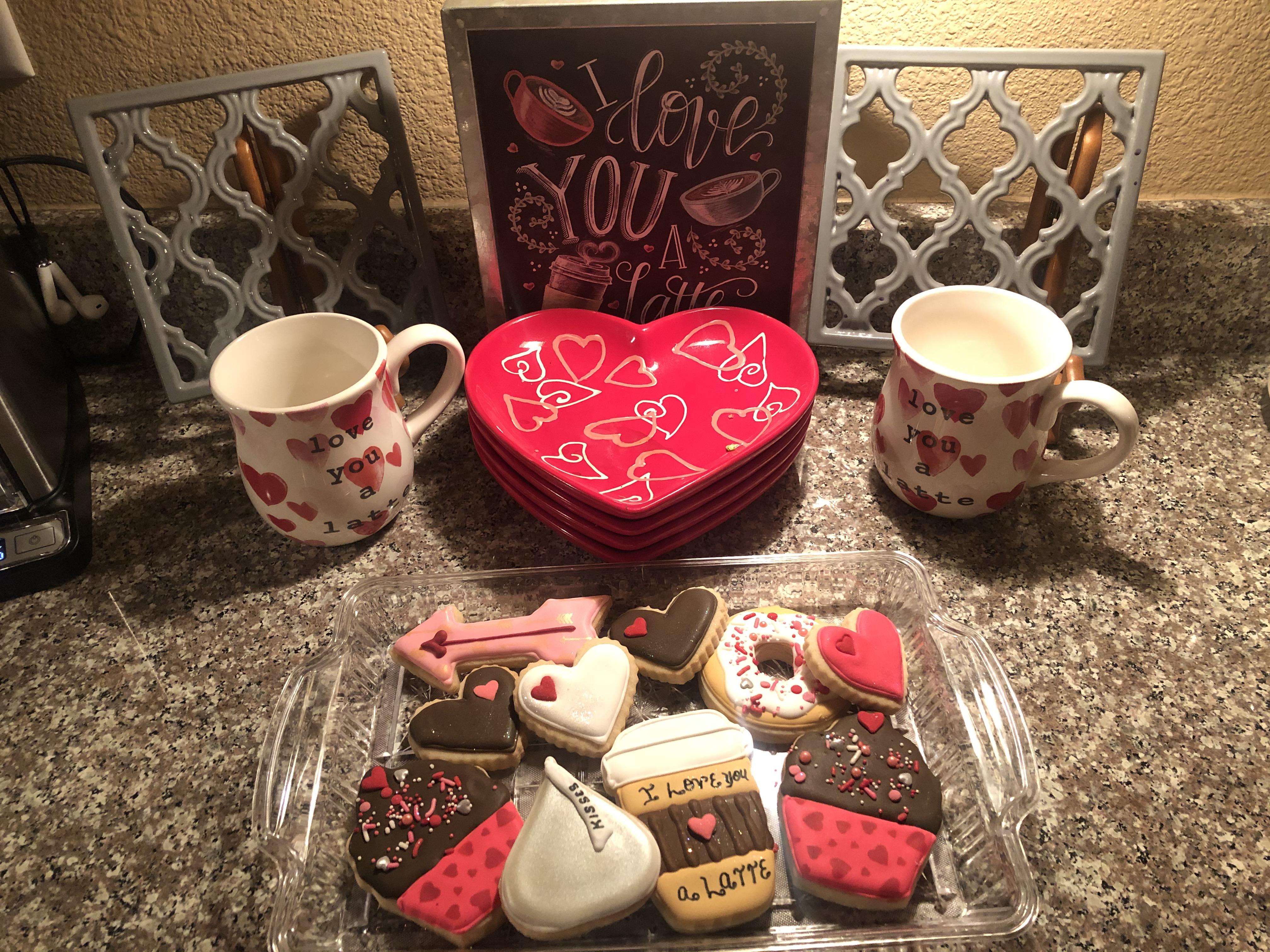 I love you Latte Valentines