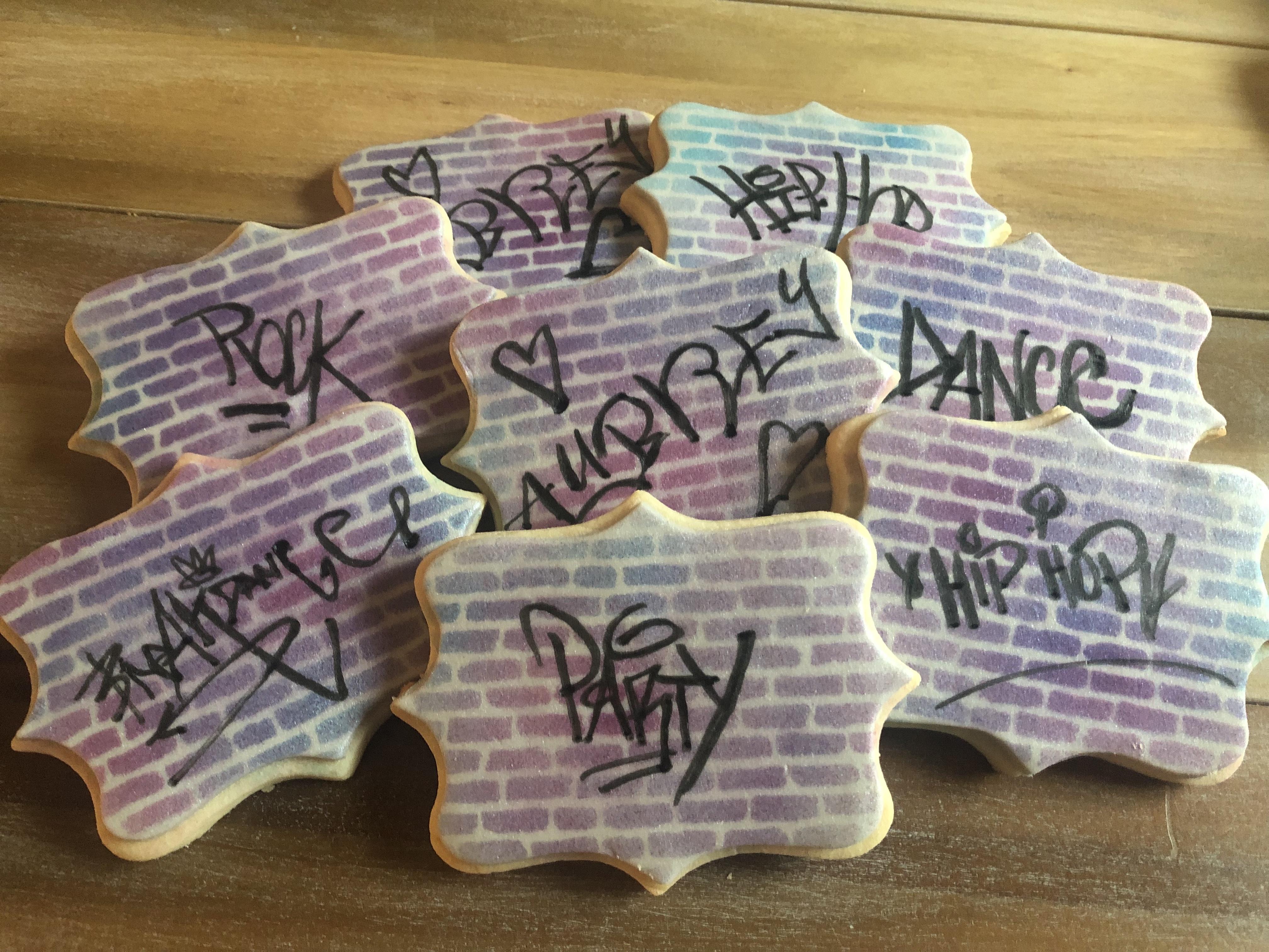 Graffiti Cookies