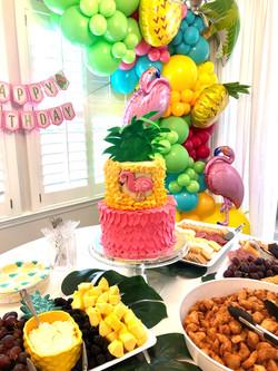 Tropical fun cake!