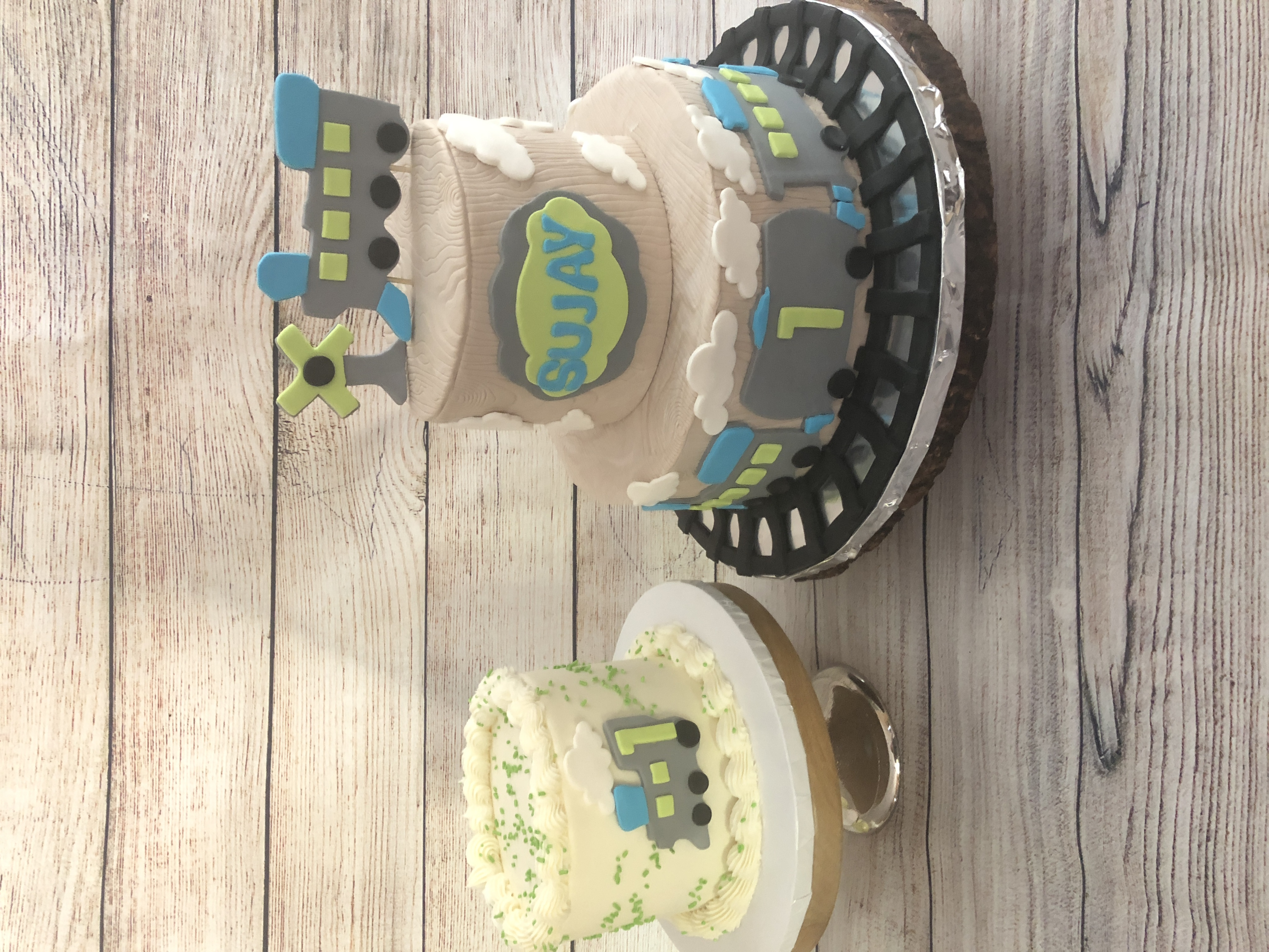 Choo Choo train cake & smash cake