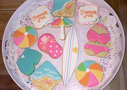 Summer at the beach Cookies