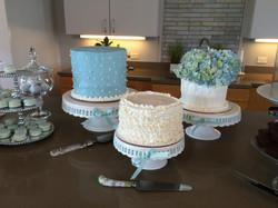 Flowers, Ruffles & Dots Cakes