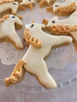 Magical unicorn cookies