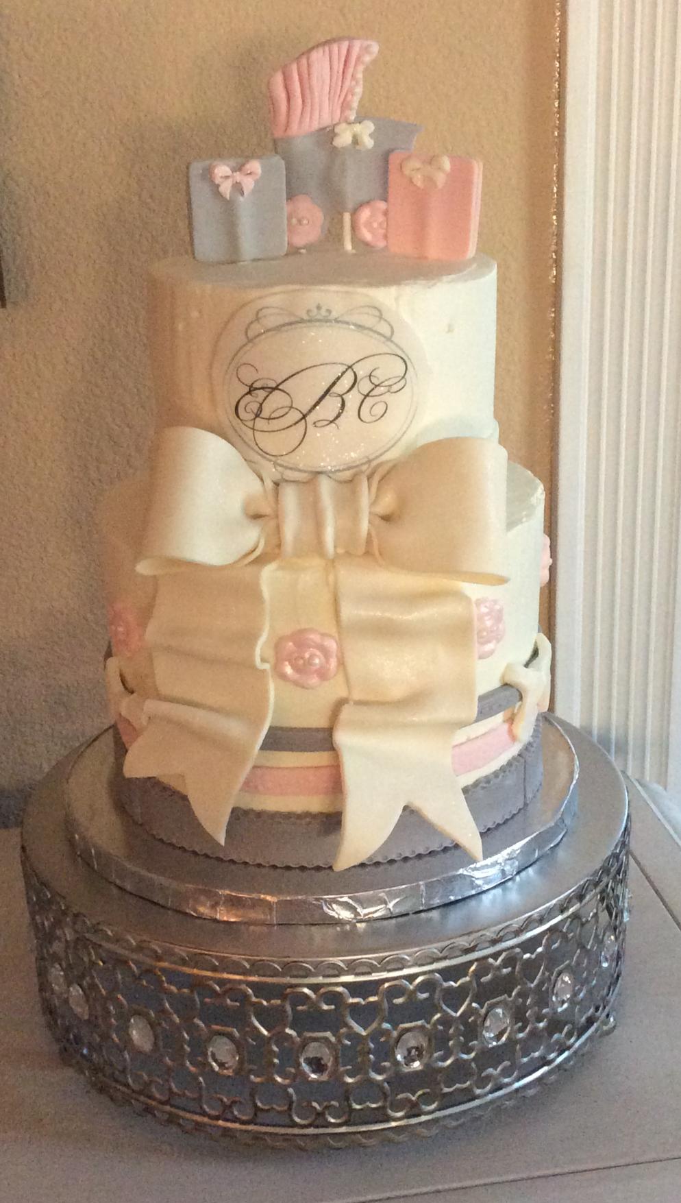 Elegant Baby Cake
