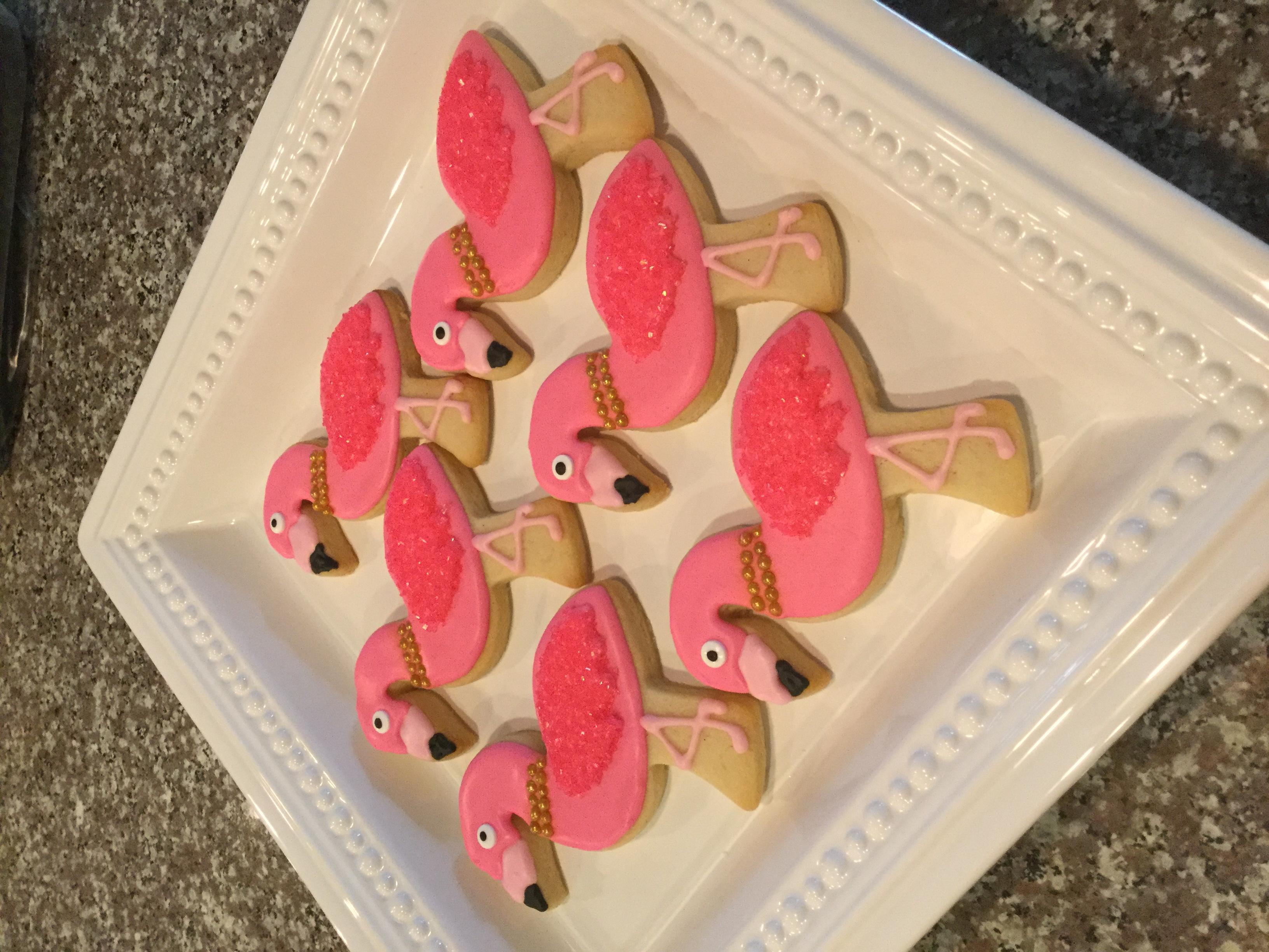 Glam Flamingos