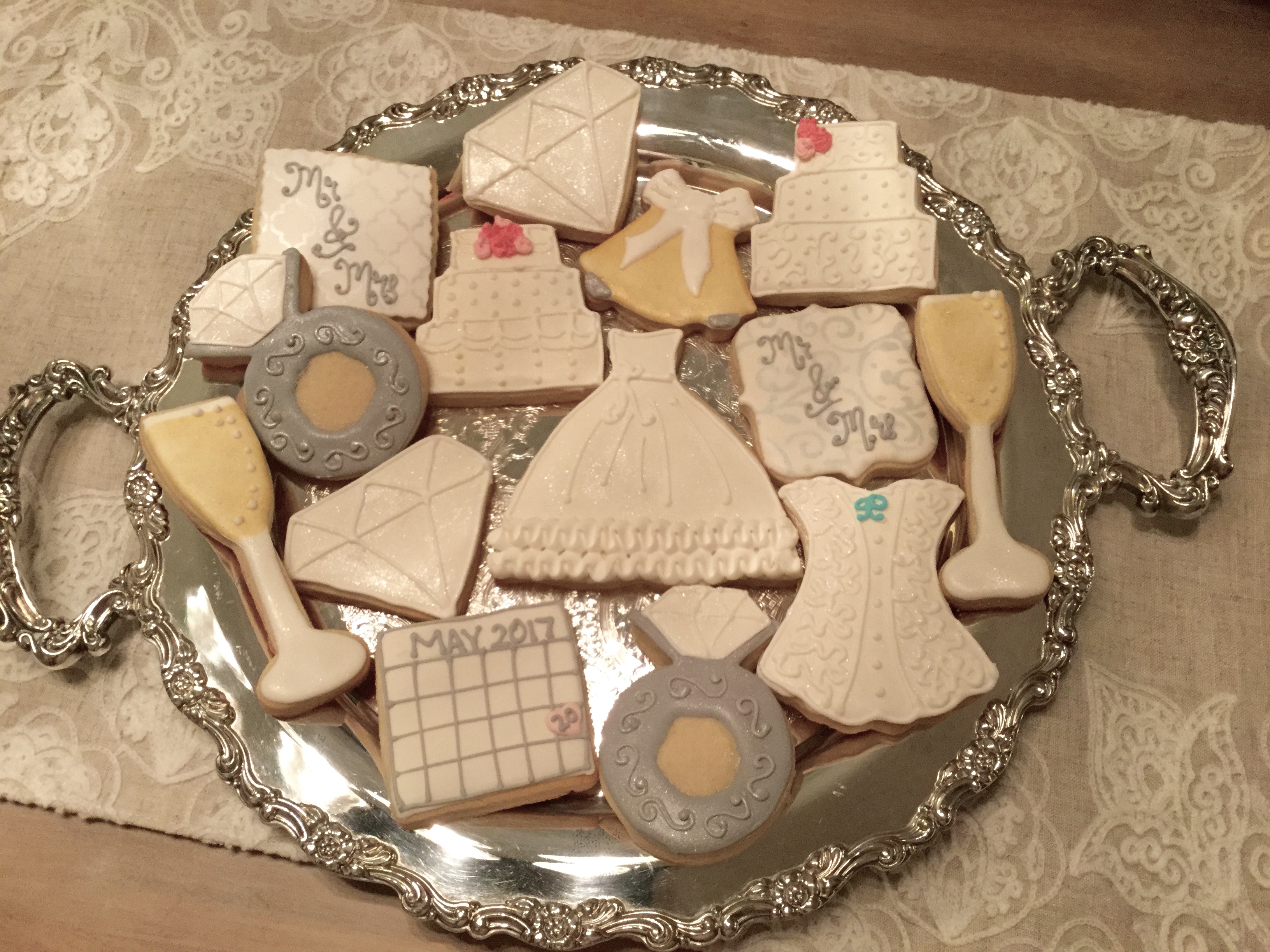 Wedding & Bridal cookie designs