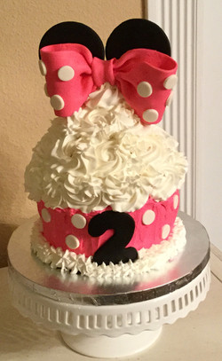 Pink Mouse Cake