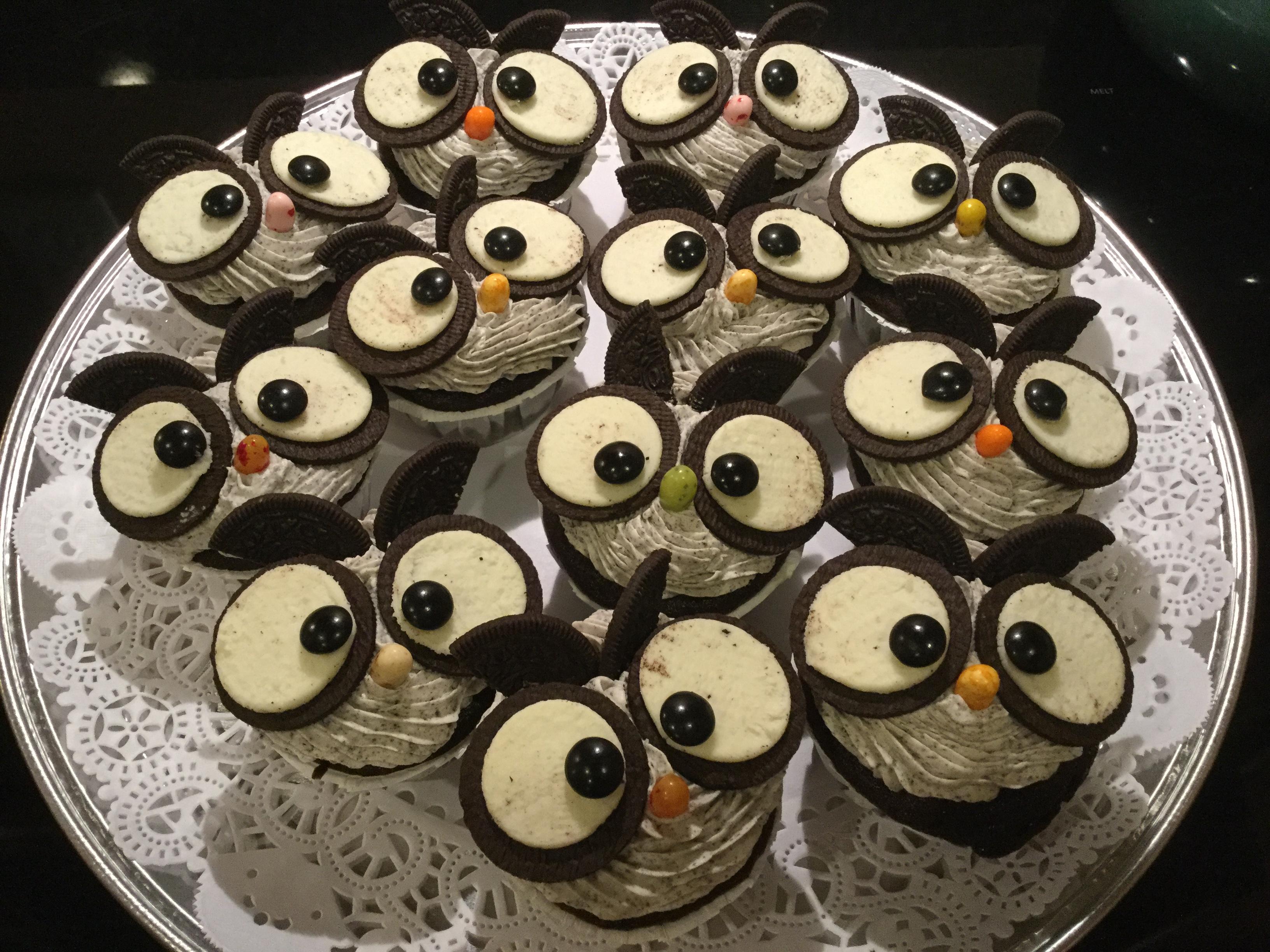 Whooo's looking at you cupcakes