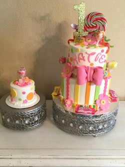 Candy Cake and baby cake