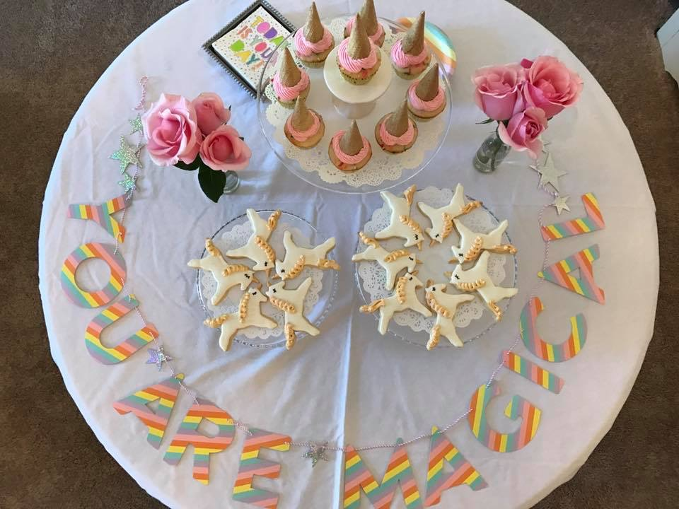 Magical cookie and cupcakes