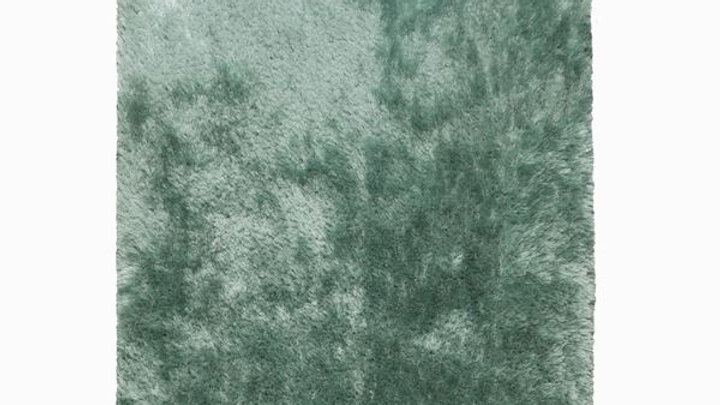 Pearl Mint Green Shaggy pile Quality Fireside Rug