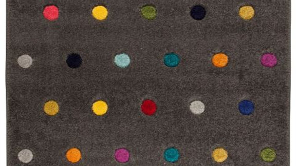 Spectrum Dotty multi coloured Quality Fireside Rug