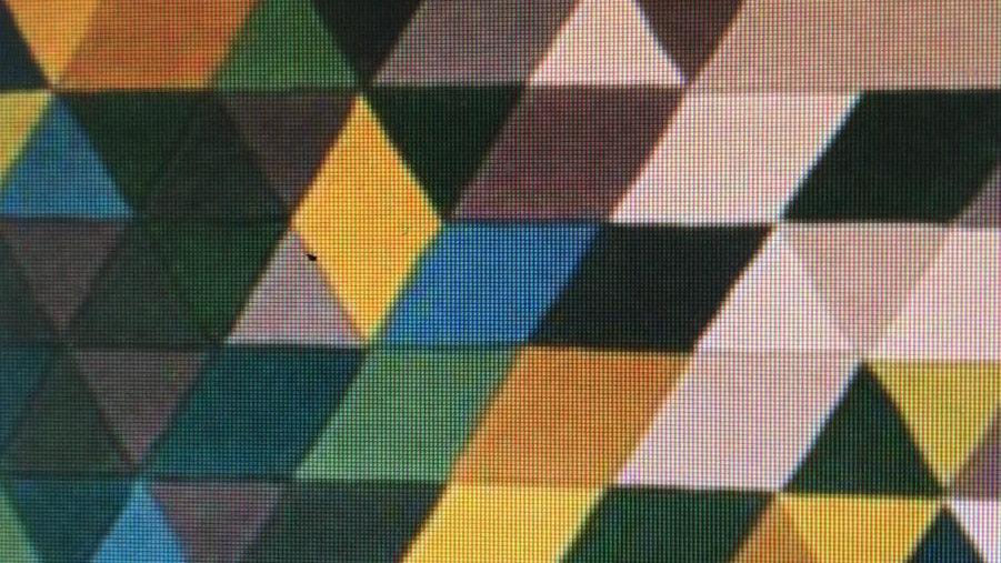 Illusion Green Multi 100% wool