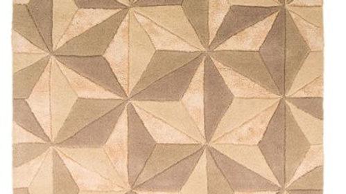 Botanical Scorpio quality Natural 100% wool rug