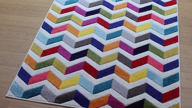 Spectrum Bolero multi coloured Quality Fireside Rug
