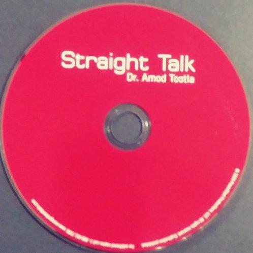 CD - Straight Talk by Amod Tootla