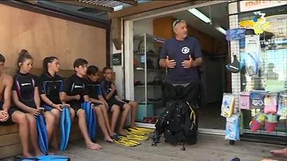 Briefing Baptême - Club de plongée basti