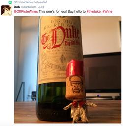 A Duke fan gets creative!