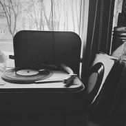 Vinyl-afspiller