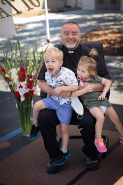 08302020-Father Pauls Retirement Driveby