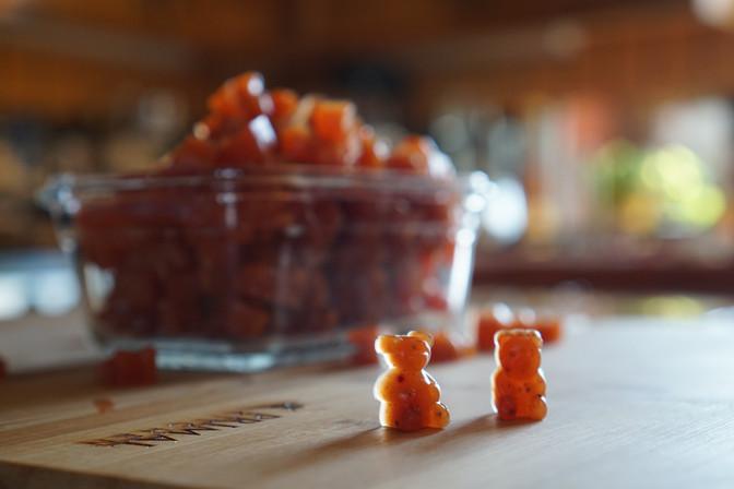 Video: Homemade Gummy Bears!
