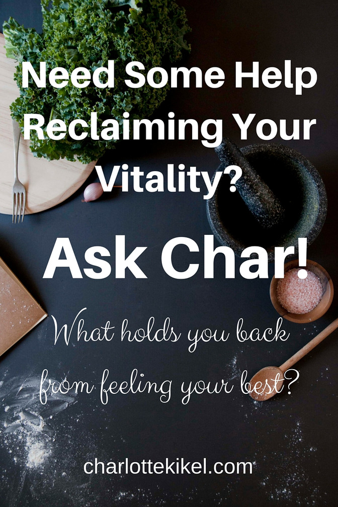 Ask Char: How Can I Shake My Cravings?