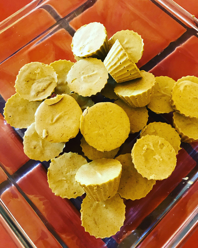 Golden Matcha Tahini Bites