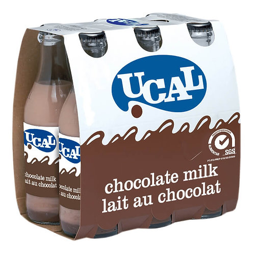 Leite c/ Chocolate UCAL Parmalat 6x250ml