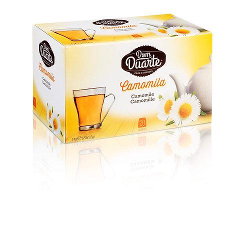 Chá Camomila Dom Duarte caixa c/ 20 saquinhos