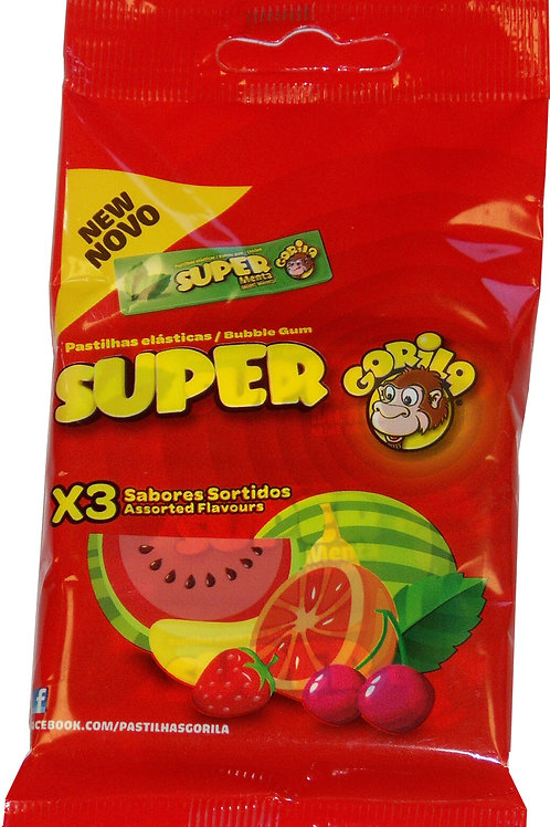 Super Gorila Chicletes Multipack Sortidos - 3 unidades