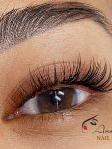Eyelashes Extensions Classic one by one.