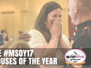 ★2017 AFI MSOY Base Spouses of the Year★