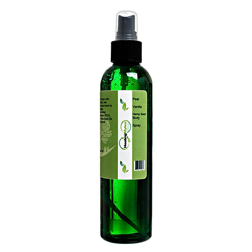 Pear Vanilla Hemp Seed Body Spray