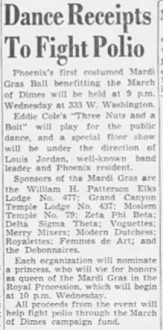 January 25, 1952, Arizona