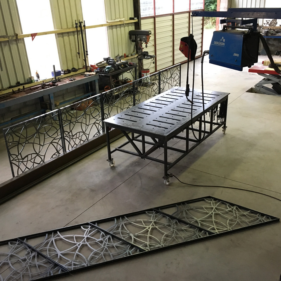 Billy Moore Metal Works - Workshop