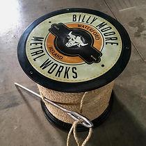 Billy Moore - Giant Spool of Thread Tabl