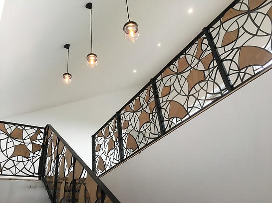 Bespoke Steel & Oak Stairs