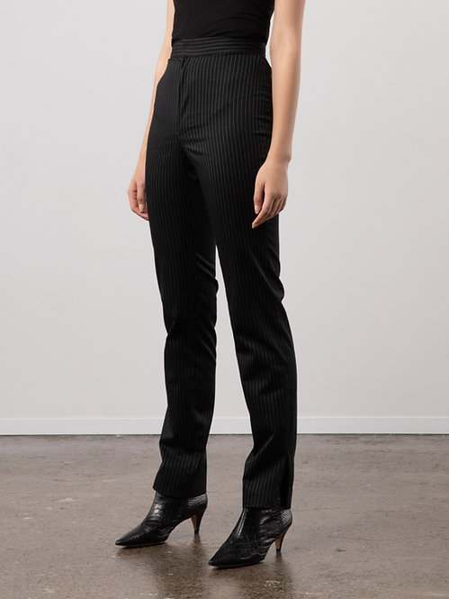 HIGH-WAISTED OFFICE PANTS