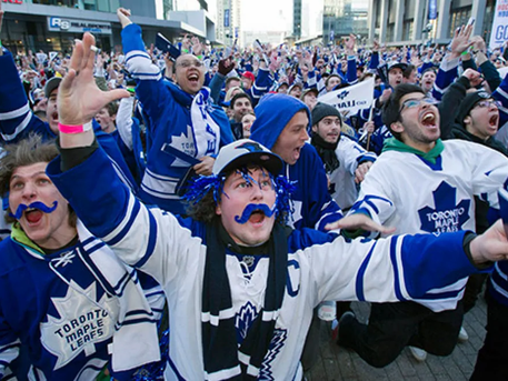 The Miracle At Maple Leaf Square